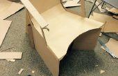 Einen funktionale Karton Stuhl zu entwerfen