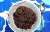 Weihnachten Cranberry Brei
