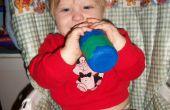 Wie man eine Baby-Flasche mit Sugru isolieren