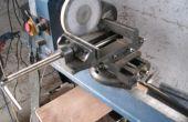 Drehbank-Upgrades.  2 Achse Laster und Rotozip - Mühle perfekt Sperrholz Platten.