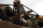 Papercraft Luftschiff: Rumpf Teil 2