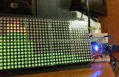 Arduino /-Verarbeitung Audio Spectrum Analyzer