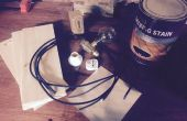 Steam Punk-Lampe auf 3040 CNC-