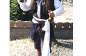 Wie erstelle ich eine Captain Jack Sparrow Kostüm auf einem Schuhzeichenketteetat!
