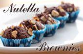 Nutella Brownies | Drei Zutaten