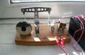12V Magnetventil Strahl Motor, gebaut aus Aluminium-Schrotte und Scavanged Gesamtkonzepte.
