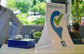 Beim Einchecken & Win (Arduino + Facebook)