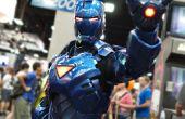 Stealth-Iron Man mit Elektronik und Servos