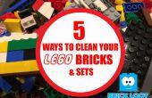 Wie reinigen Sie Ihre Legosteine und Sets!