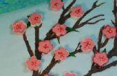 Mousse au Chocolat Cherry Blossoms