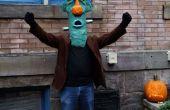 Pappmaché Frankenstein Maske