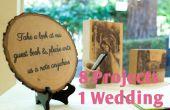 Dekorieren Sie Ihre Hochzeit mit Holz 8 in1 Instructable