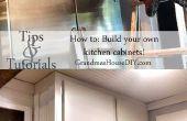 Wie Sie Ihre eigene Küche Schränke bauen