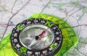 Wie man eine topographische Karte liest