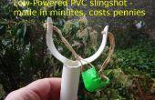 Einfache PVC-Schleuder für ein paar Cent