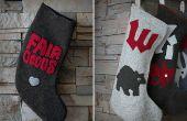Urlaub DIY: Gefilzte Pullover Strümpfe
