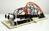 Ultraschall-Entfernungsmesser mit LCD-Display auf Arduino UNO
