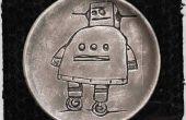 Essig-Radierung (Instructables Roboter im Lehm)