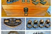 Vintage Holz Tackle Box
