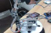 6 Dof Roboterarm gesteuert durch 1Sheeled