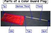 Gewusst wie: Kleben Sie ein Color Guard Flag