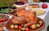 Einfach, hausgemachte Thanksgiving-Dinner