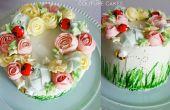 Können Blumen Kranz Kuchen