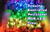 Arduino gesteuert positionellen RGB LED-Weihnachtsbaum