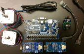 Über einen Joystick zur Steuerung Schrittmotoren mit einem FPGA