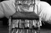 Stuhl aus Kunststoff Flasche Rüstung