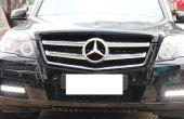 Installieren iJDMTOY Mercedes Benz GLK LED Tagfahrlicht