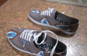 Ikat-Print Schuhe