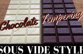 Temperieren von Schokolade: Sous-Vide-Stil