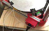 Delta-3D-Drucker erhitzt Bett - Heavy-Duty