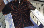 Schwarze Tiger T-shirt gebleicht