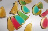 Regenbogen-Orange Jelly