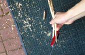 Wie machen kostenlose Stäbchen aus Stöcken