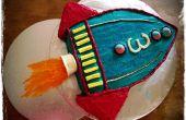 Rakete Kuchen (für Toy Story Party)