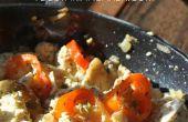 Wie erstelle ich vegane Tofu-Rührei | Einfach Frühstück Rezept