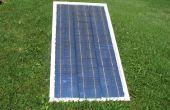 Mit Solarzellen, um Glas DIY Solar-Panel Rahmen