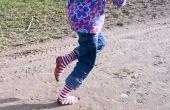 Barfuß laufen Plasti-Socken