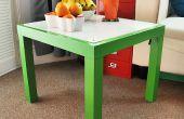 DIY Lightbox mit Ikea Lack Tisch bauen.