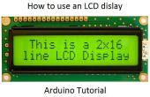 Gewusst wie: verwenden Sie ein LCD-Display - Arduino Tutorial