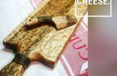 Handgefertigt, Käse vom Brett & Käsemesser