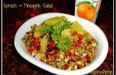 Sprossen & Ananas Salat