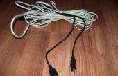 USB-Kabel verwenden Jack Telefonkabel verlängern