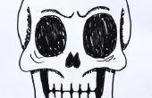 Gewusst wie: zeichnen ein menschliches Schädels