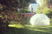 Gewächshaus - geodätische Kuppel
