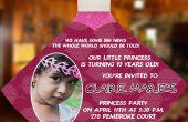DIY Prinzessin Kleid Einladungen für Ihre Lil Princess Geburtstag