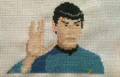 Star Trek Kreuzstich: Spock
